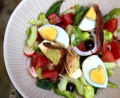 Real salad Niçoise