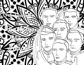 Mandala del 13 de septiembre día de los niños héroes