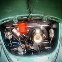 novo motor 1200 do fusca agora com dupla carburação e filtro de óleo nosso kit okrasa brasileiro