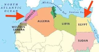 MARROCOS E EGITO