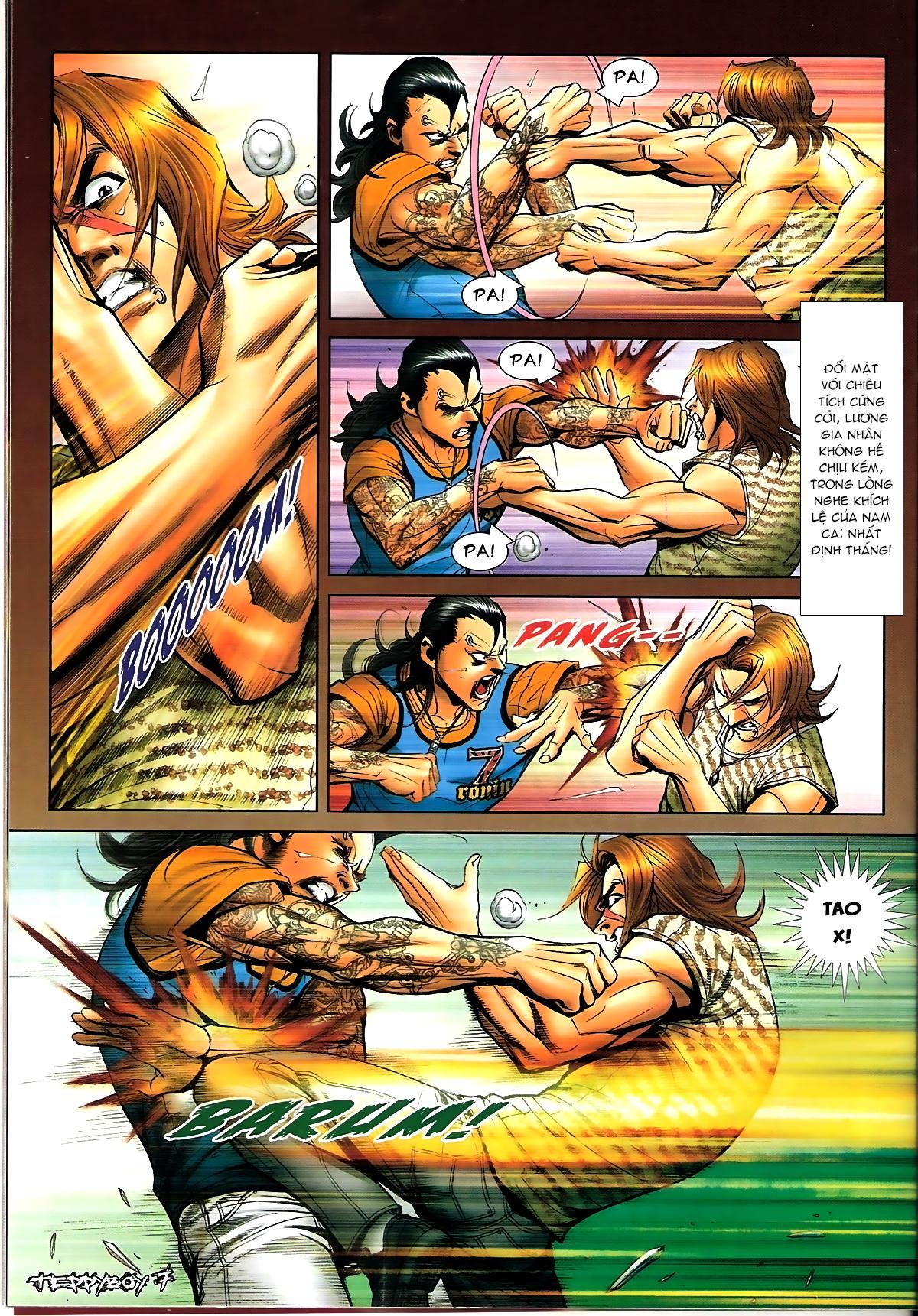 Người Trong Giang Hồ - Chapter 1339: Lương Gia Nhân vs Chiêu Tích - Pic 6