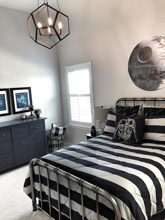 Star Wars Bedroom Decorations Inspiration For Childrens 4