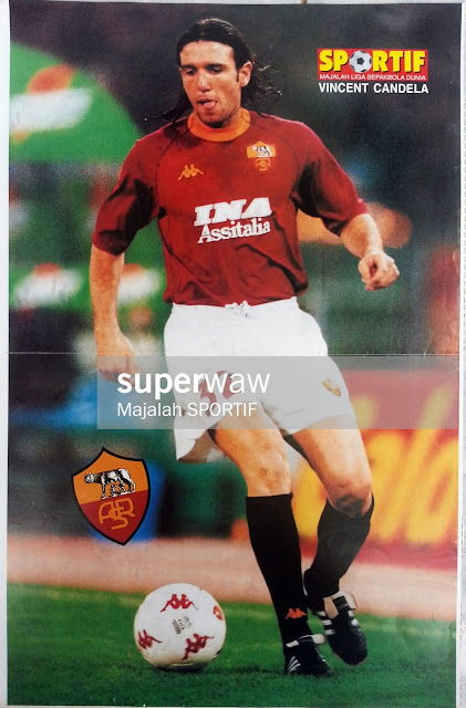 Vincent Candela AS Roma