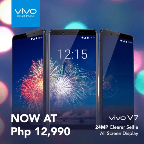 Vivo Drops Price of V7 to PhP12,990