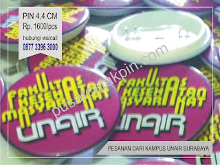 pesan pin murah di jogja order kampus UNAIR surabaya