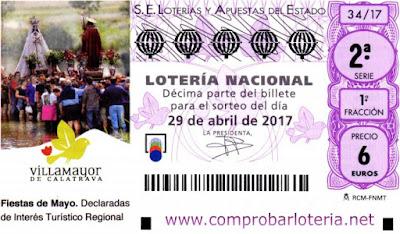 Sorteo de loteria nacional del sabado 29-04-2017