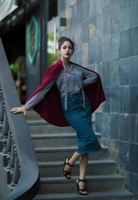 Lavanya Tripathi Latest Hot Glamourous Spicy PhotoShoot Images