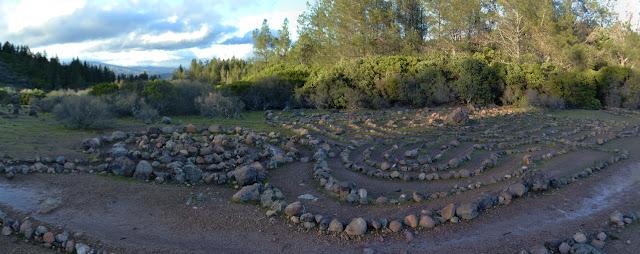 swirls of rocks