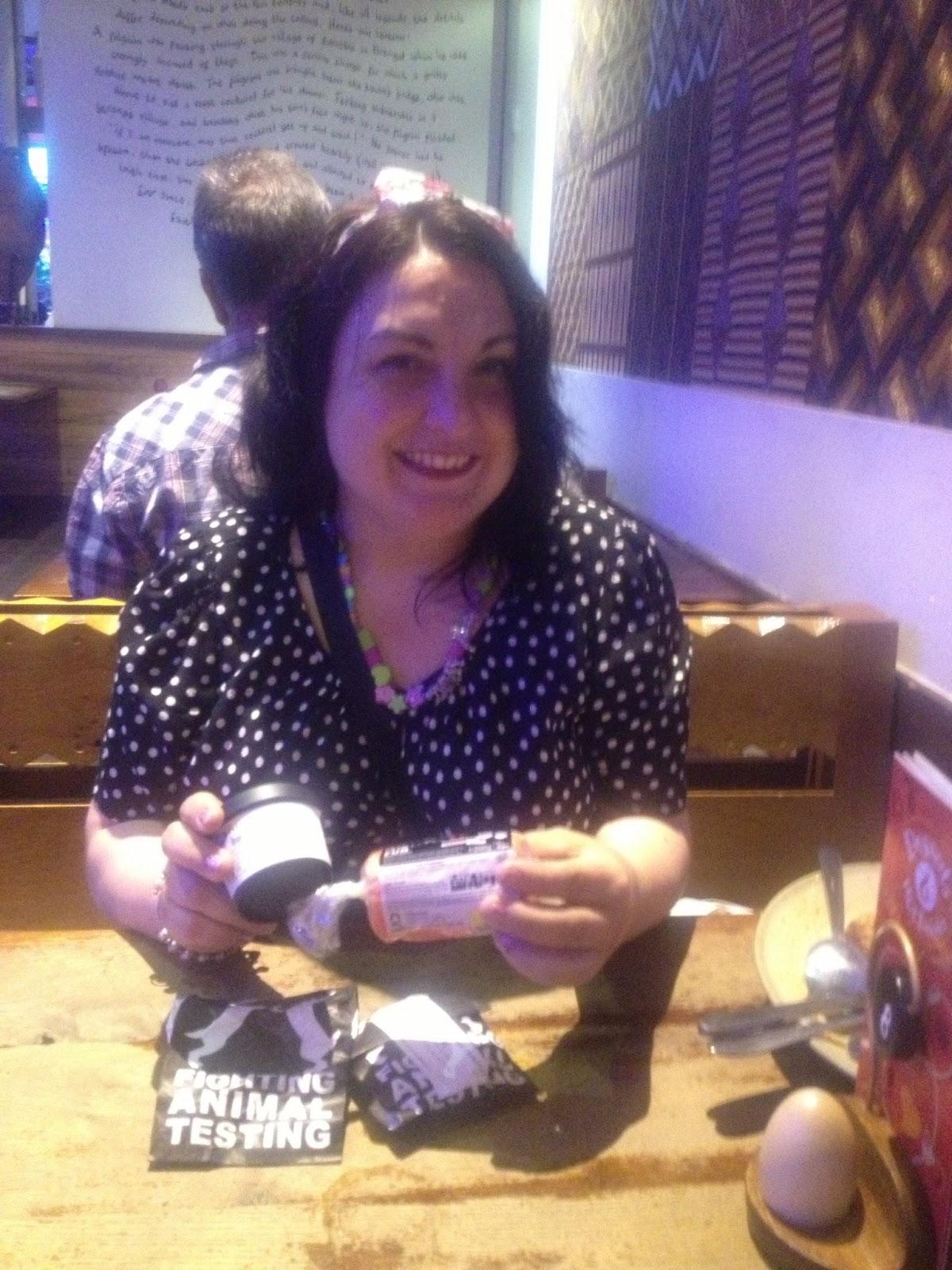 , Lush Blogger Event Cardiff