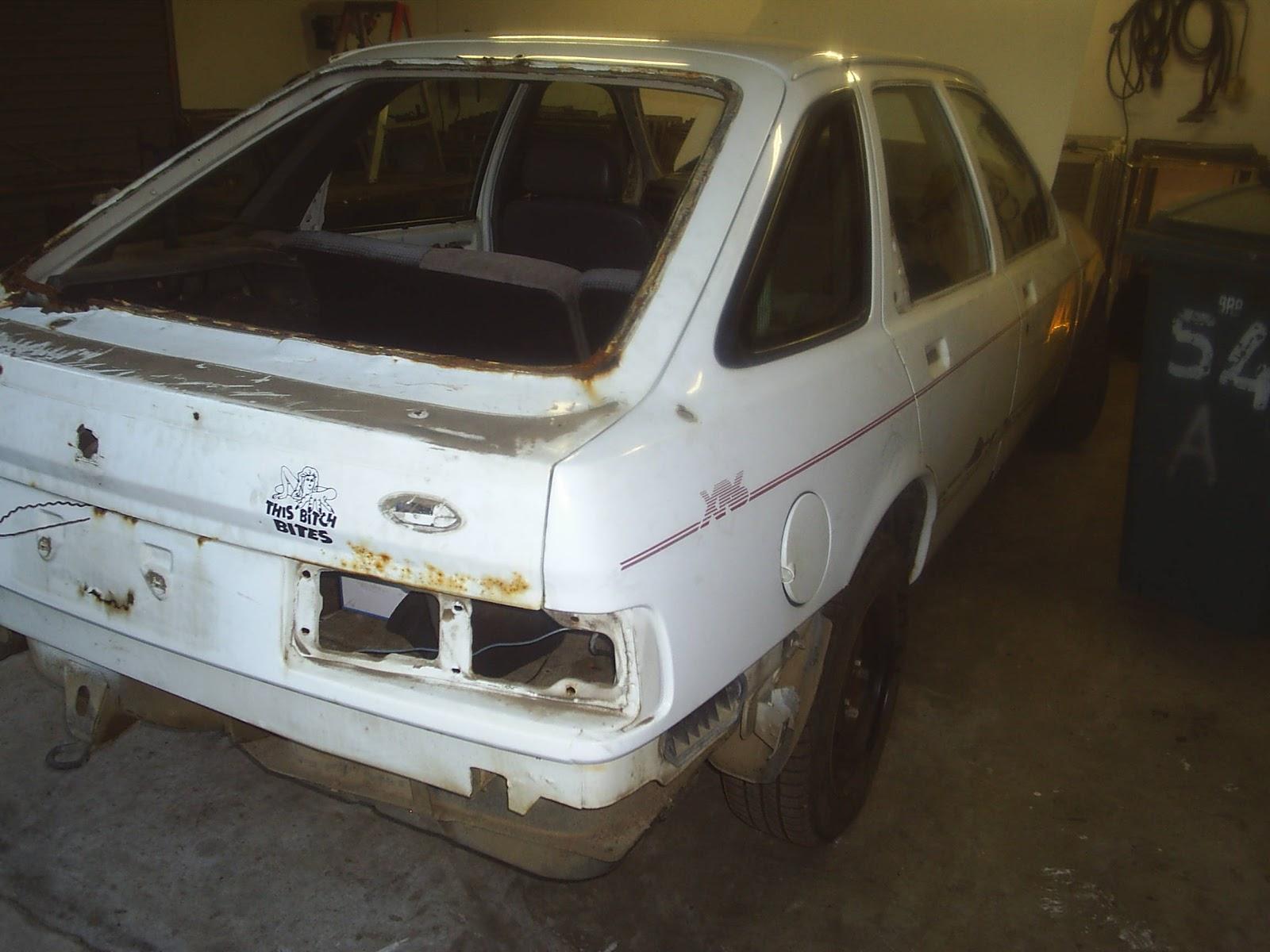 Rebuilding My Ford Sierra Xr6