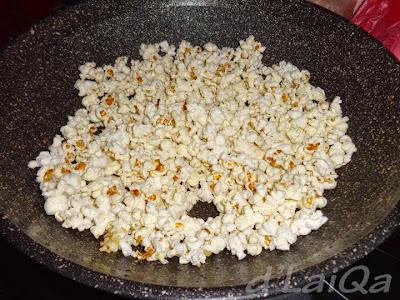 pop corn telah masak