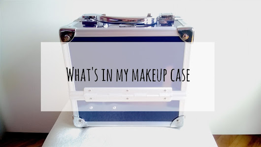 What's in my makeup case