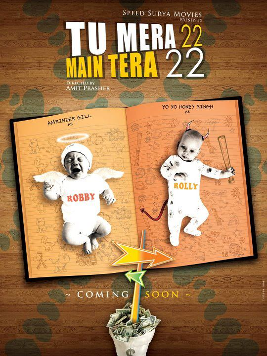 Tu Mera 22 Main Tera 22-Amrinder Gill & Honey Singh