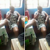 Lagos teacher sits carelessly in classroom (photos)