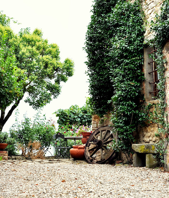 The Grounds at Borgo Argenina in Gaiole in Chianti, Italy | Taste As You Go