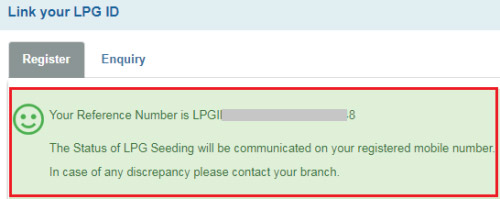 how to link bank account with lpg connection online to get subsidy