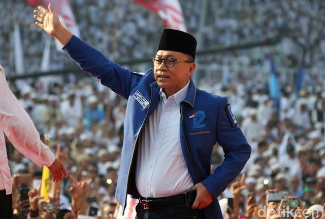 Ketum PAN: Menurut Tim Riset-Survei, Kemenangan Prabowo-Sandi Terang Benderang