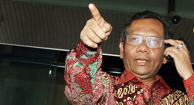 Mahfud Klaim Punya Catatan Dugaan Korupsi Para Kandidat Cawapres Jokowi