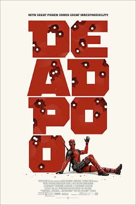 Deadpool (Version 2) Movie Poster Standard Edition Screen Print by Phantom City Creative & Mondo