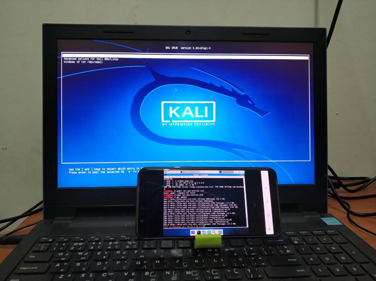 Android မှာ PC လို Kali တင်မယ် ( root ရှိရှိ