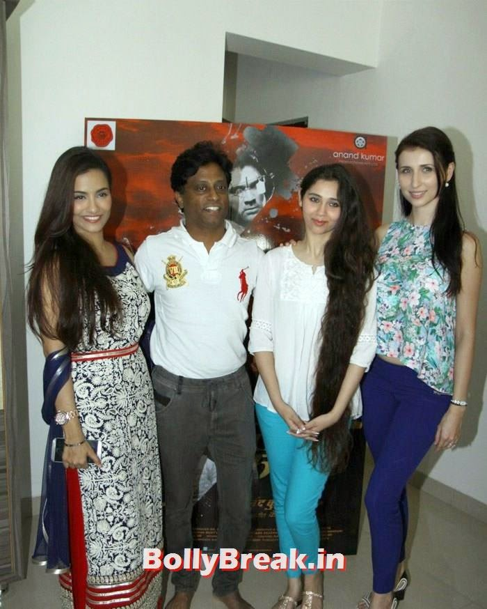 Tia Bajpai, Anand Kumar, Sasha Agha, Claudia Ciesla, Claudia Ciesla, Tia Bajpai, Sasha Agha Hot images from movie 'Desi Kattey' PC