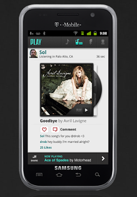 AOL PLAY Music App for Android