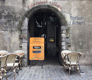 The restaurant Barbue d'Anvers