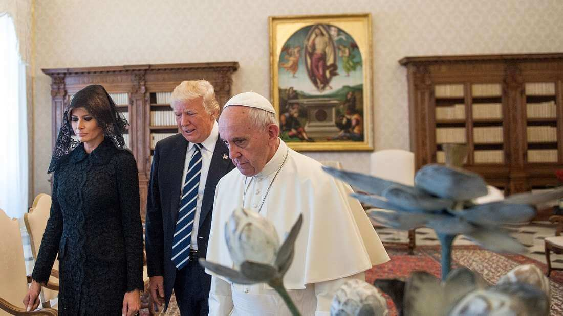 Trump's Climate Agreement Withdrawal Causes Caustic Comments From The Vatican That Compare Him To Flat-Earthers