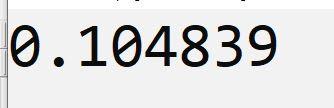 tanpa melakukan pembulatan bilangan di c++