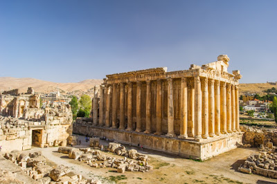 Temple of Baalbek, Lebanon