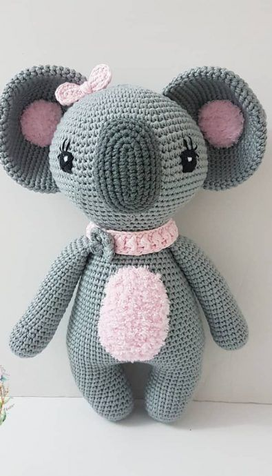 Amigurumi koala with heart free pattern – EN – Free Amigurumi | 690x395