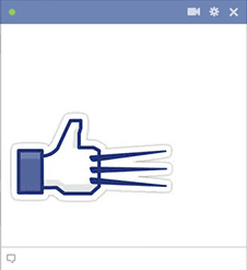 Wolverine FB Emoticon