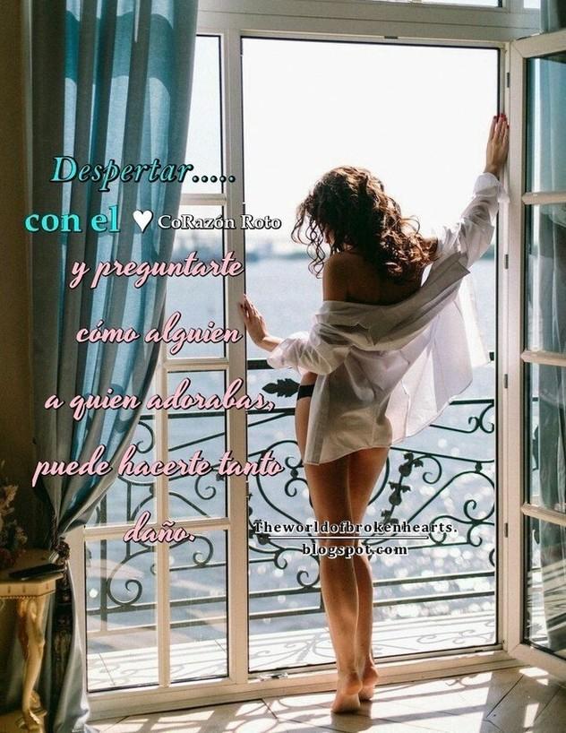 Despertar con el corazón roto y preguntarte cómo alguien a quien adorabas, puede hacerte tanto daño y cuestionarte sobre el porqué no puedes dar, por fin, con quien encaje en tu vida perfectamente. Despertar es querer seguir sintiéndote libre e independiente, sin ataduras, pero acariciando a la vez la idea de conseguir la estabilidad definitiva con una persona especial en quien puedas confiar y apoyarte.
