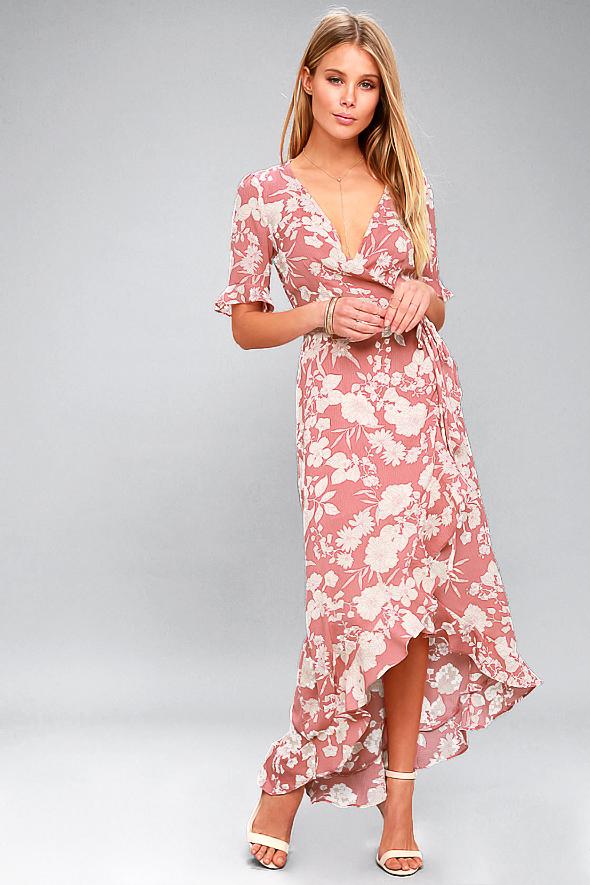 Dann Joy Fashions Pink Dress