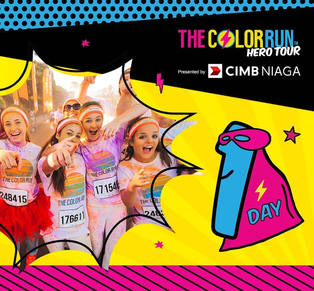 The Color Run Indonesia - Hero Tour • 2018