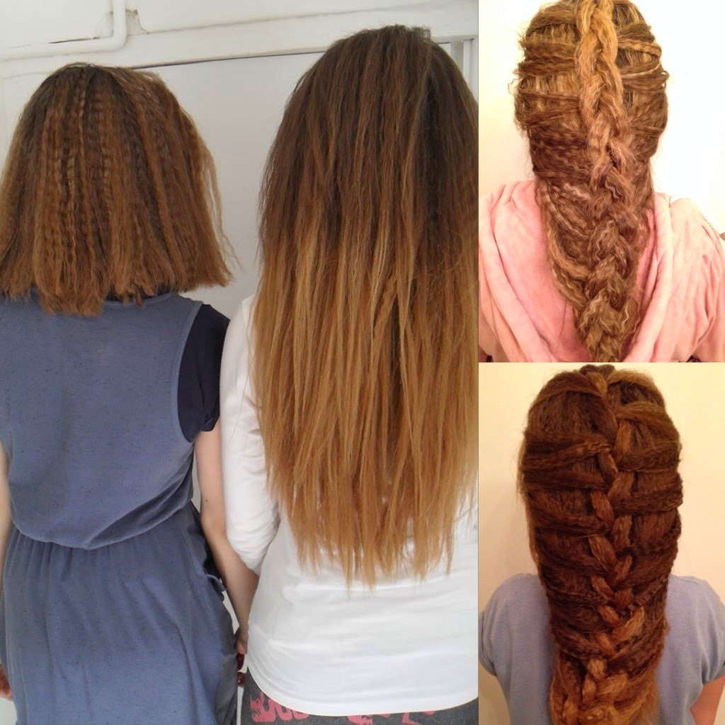 Hair Styles by Liberty: Crimped Braids