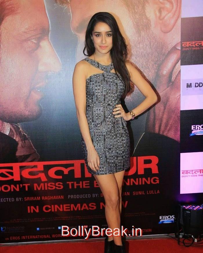 Shraddha Kapoor, Hot Pics of Sonakshi Sinha, Shraddha Kapoor At 'Badlapur' Success Bash