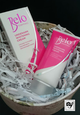 Solution To Dark Underarm Problem: Belo Essentials Underarm Whitening Cream