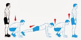 Cara meninggikan badan dengan senam Squat thrust