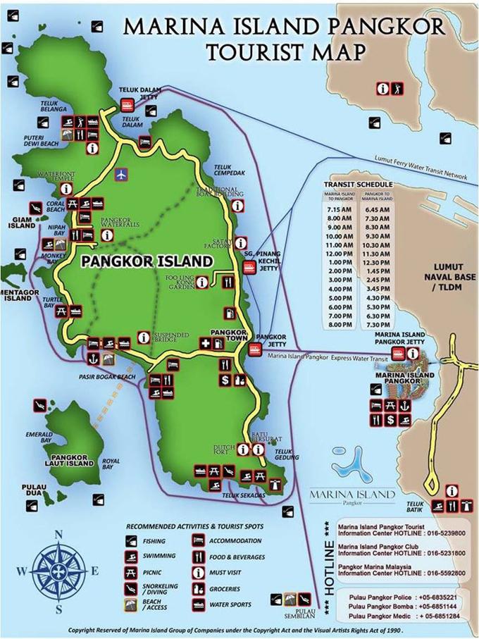 Tips Bercuti di Pulau Pangkor - Destinasi Popular Pelancongan Negeri Perak