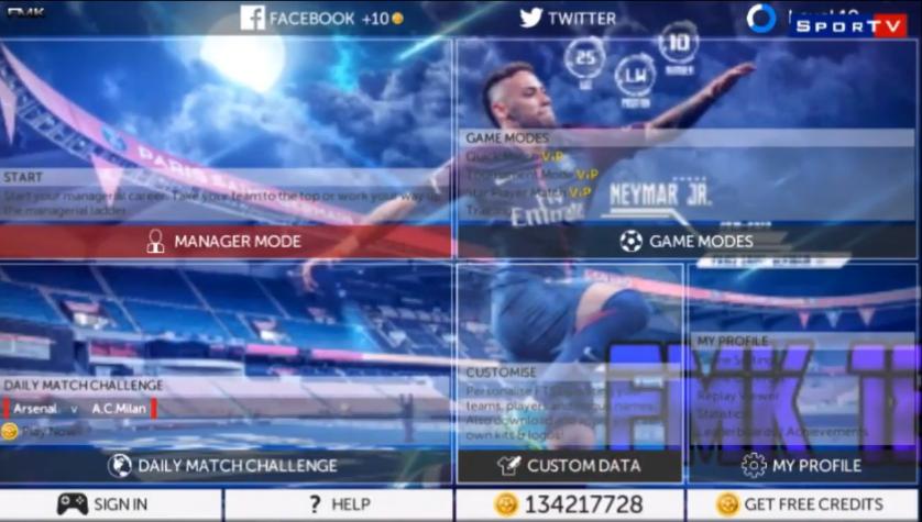 Download FMK V1 BY KING JOOH & WG GAMES | Soccer Mobile