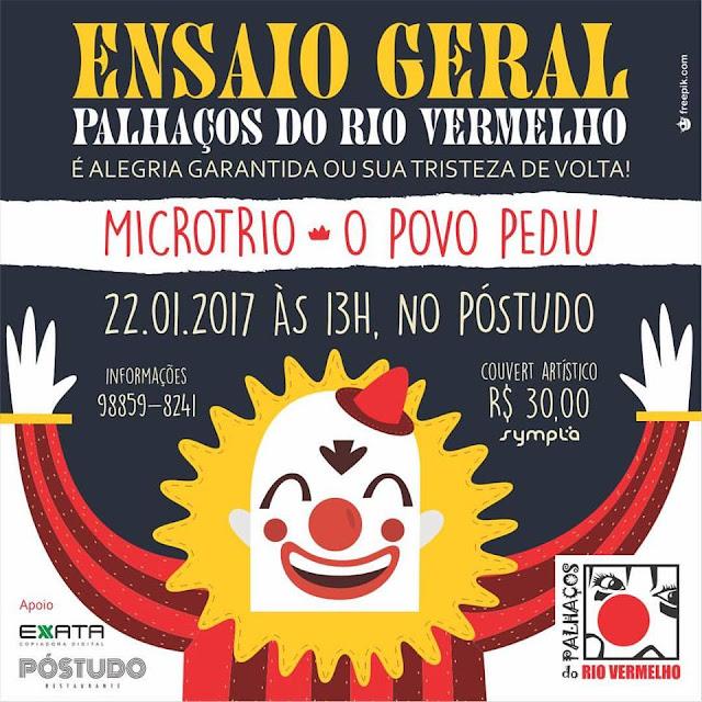Armandinho Macêdo e Marcia Castro serão coroados rei e rainha dos Palhaços do Rio Vermelho