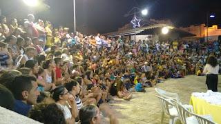 Prefeitura de Picuí realiza espetáculo 'encanto natalino' que encantou o grande público presente