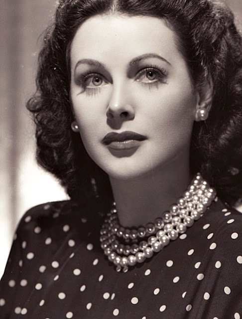 Iconic 40s Fashion: Leopard And Lipstick: Style Icon: Hedy Lamarr