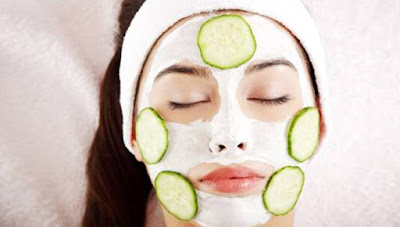 Cucumber Face Pack for Tanned Skin