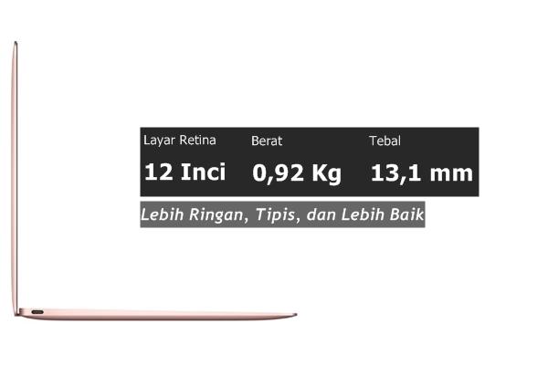 Desain MacBook 12 Inch
