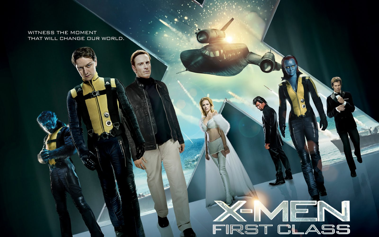 Movie Posters 2011: My Film Journal: X-Men: First Class