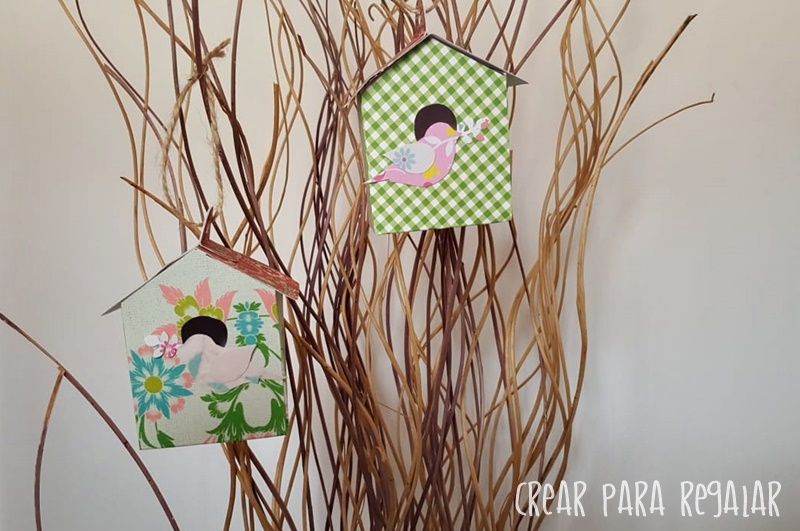 casita pajaros decorar