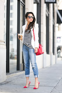Peça branca é um essencial - blazer branco