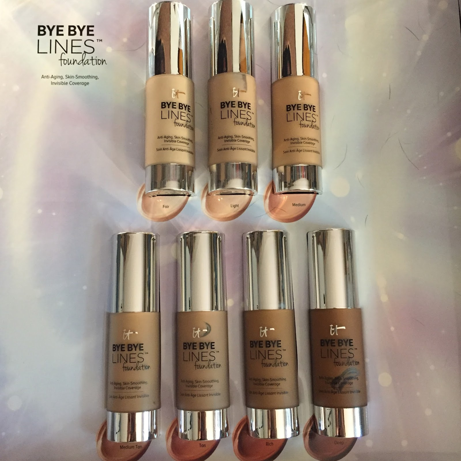 Cosmetics Bye Lines Foundation Under